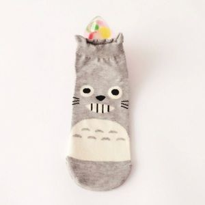 Gray Totoro Socks - NEW